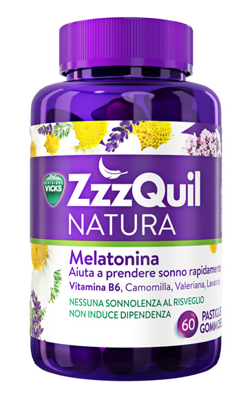 VICKS ZZZQUIL NATURA 60 PASTIGLIE - Speedyfarma.it