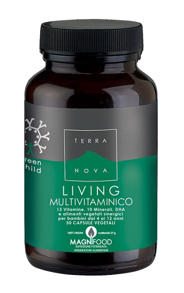 Terranova Living Multivitaminico 50 Capsule - Arcafarma.it