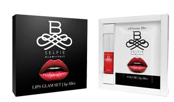 B SELFIE LIPS GLAM SET FILLER SIERO 15 ML + 4 PATCHES DA 0,2 ML - Farmastar.it