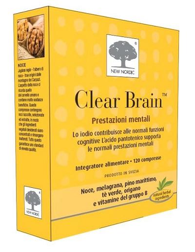 CLEAR BRAIN 120 COMPRESSE - Farmaseller