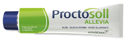 PROCTOSOLL ALLEVIA GEL 40 ML - Farmastop