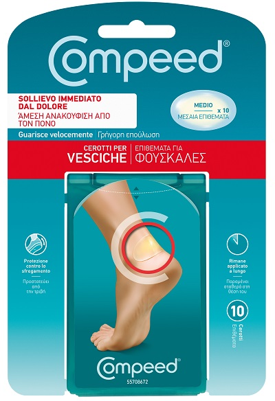 COMPEED CEROTTO VESCICHE MEDIO 10 PEZZI - Farmafamily.it