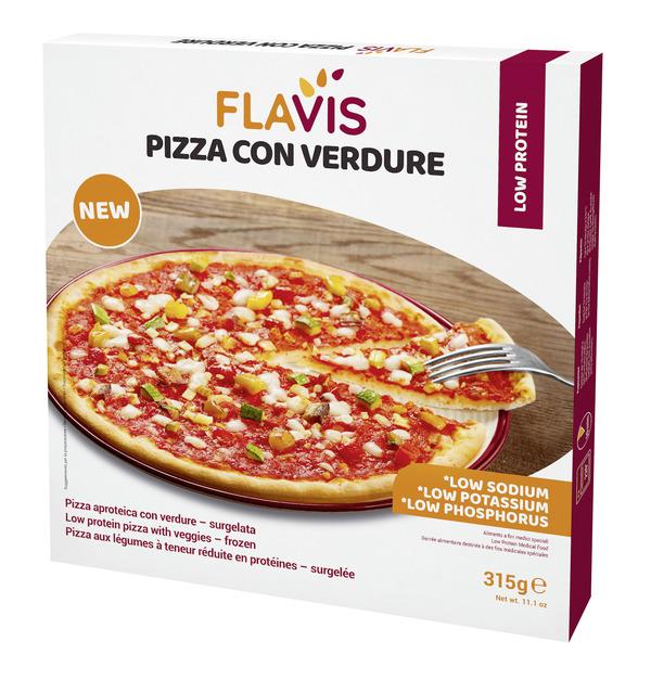 FLAVIS PIZZA ALLE VERDURE SURGELATA 315 G - Farmabros.it