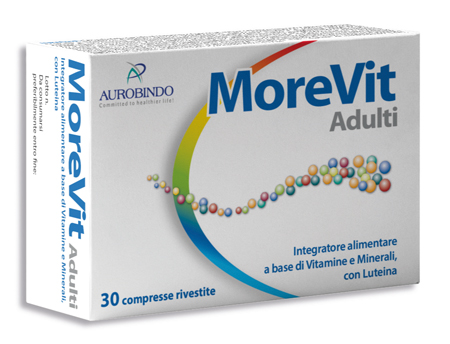 MOREVIT ADULTI 30 COMPRESSE - Farmia.it