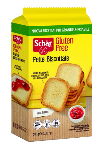 SCHAR FETTE BISCOTTATE 260 G - Farmastar.it