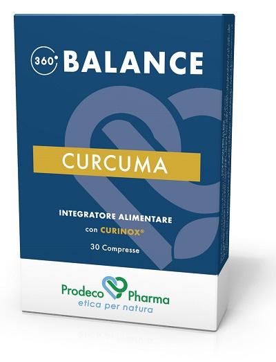360 BALANCE CURCUMA 30 COMPRESSE - Farmapass