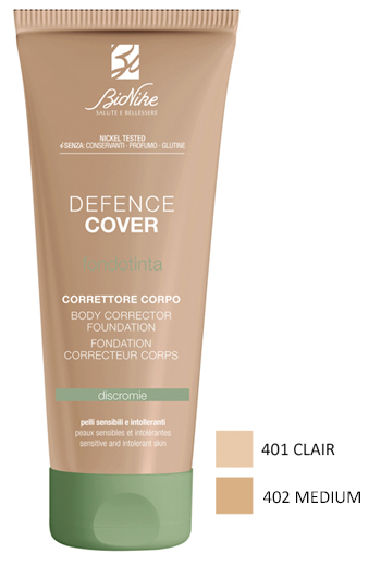 Bionike Defence Cover Correttore Corpo 401 Clair 75ml - Arcafarma.it
