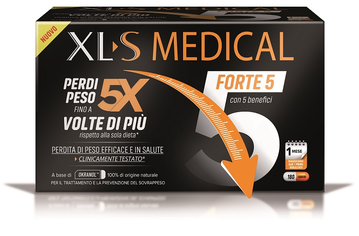XLS MEDICAL FORTE 5 180 CAPSULE - Farmajoy