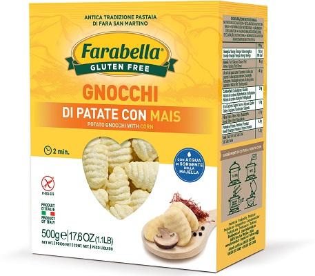FARABELLA GNOCCHI PATATE CON MAIS 500 G - Farmaseller