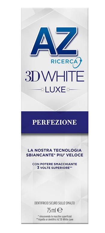 AZ DENT 3D WHITE LUXE PERFEZIONE 75ML - Farmaseller