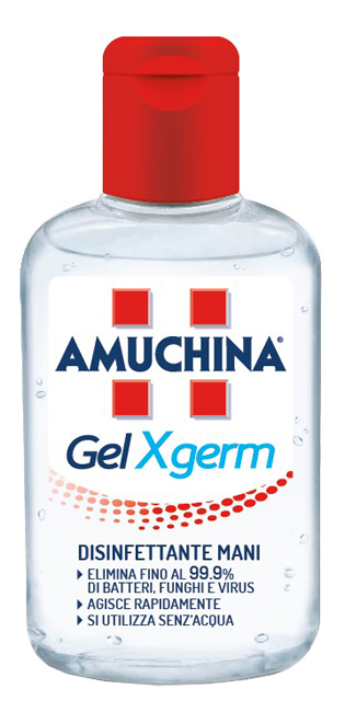 AMUCHINA GEL X-GERM 80 ML - Farmabros.it