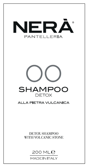 NERA' 00 SHAMPOO DETOX PIETRA VULCANICA 200 ML - Farmabros.it