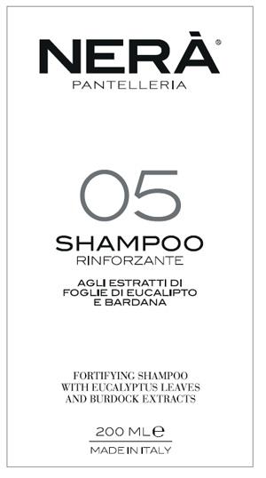 NERA' 05 SHAMPOO RINFORZANTE ESTRATTI FOGLIE EUCALIPTO E BARDANA 200 ML - Farmabros.it