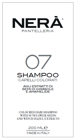 NERA' 07 SHAMPOO CAPELLI COLORATI ESTRATTI GIRASOLE E AMAMELIDE 200 ML - Farmabros.it