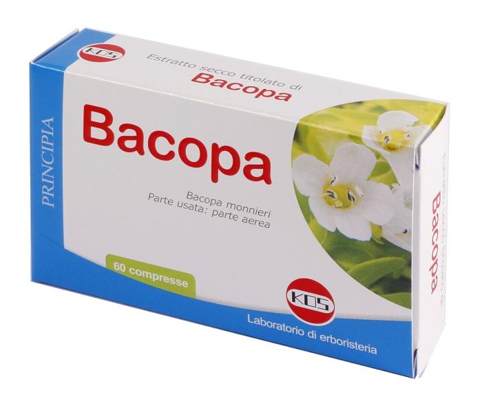 BACOPA MONNIERI ESTRATTO SECCO 60 COMPRESSE - Farmaseller
