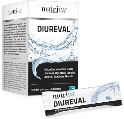 NUTRIVA DIUREVAL 15 STICK PACK DA 10 ML - Parafarmaciaigiardini.it