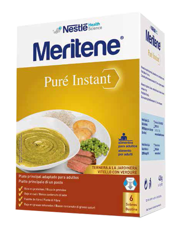 MERITENE PURE' INSTANT VITELLO CON VERDURE 6 X 71 G - Farmafamily.it