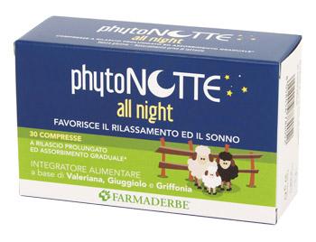 PHYTONOTTE ALL NIGHT 30 COMPRESSE - Farmastar.it