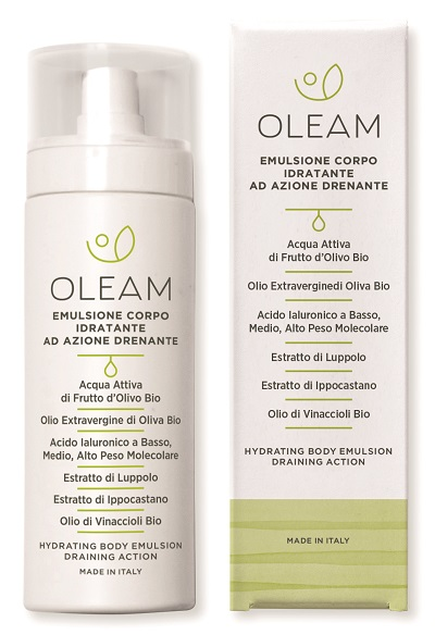 OLEAM EMULSIONE CORPO DRENANTE 200 ML - Iltuobenessereonline.it