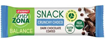 ENERZONA SNACK DOUBLE CHOCO 33 G - Farmabros.it