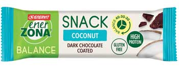 ENERZONA SNACK COCONUT 33 G - Farmaedo.it
