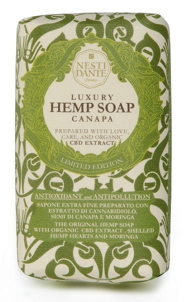 LUXURY HEMP SOAP CANAPA 250 G - Farmafirst.it