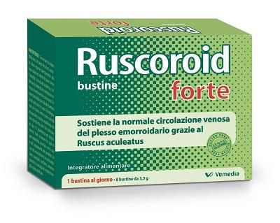 RUSCOROID FORTE 8 BUSTINE DA 3,5 G - Farmajoy