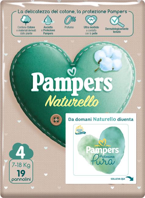 PAMPERS NATUR MAXI CP 19 PEZZI - Farmajoy