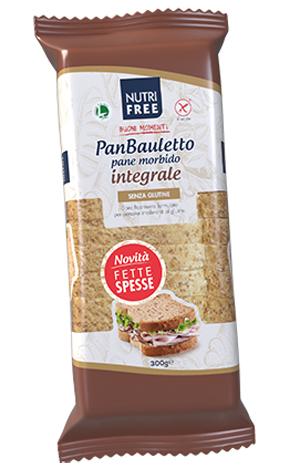 NUTRIFREE PANBAULETTO INTEGRALE 300 G - Farmaconvenienza.it