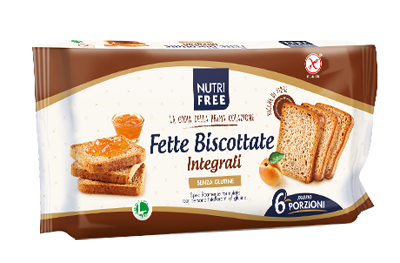 NUTRIFREE FETTE BISCOTTATE INTEGRALI 225 G - FARMAEMPORIO