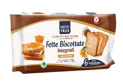 NUTRIFREE FETTE BISCOTTATE INTEGRALI 225 G - Farmaconvenienza.it