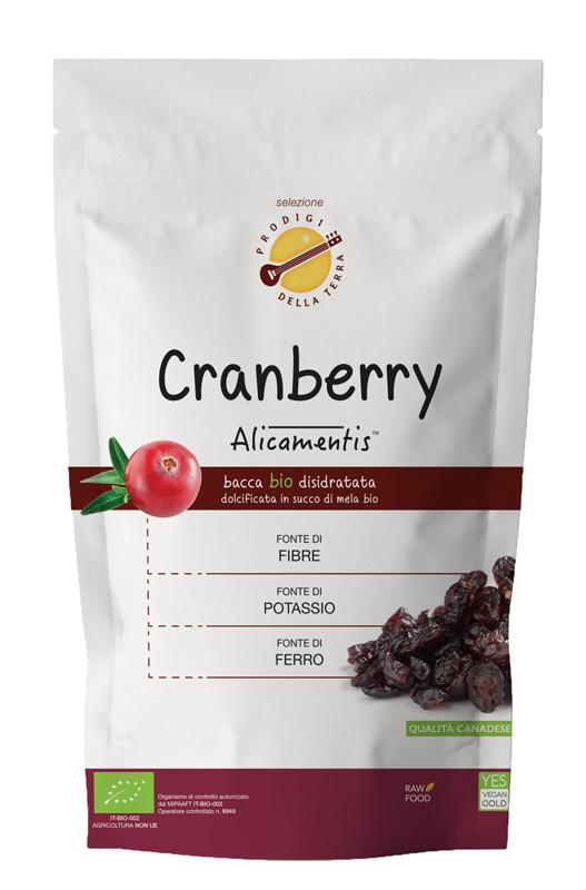 CRANBERRY BIO 220 G ALICAMENTIS - Farmacia Al Te