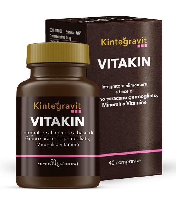 VITAKIN 40 COMPRESSE KINTEGRAVIT - Farmacia Centrale Dr. Monteleone Adriano