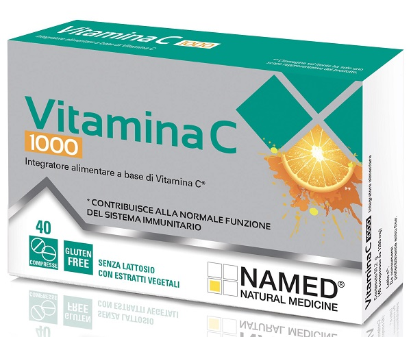 VITAMINA C 1000 40 COMPRESSE - FarmaHub.it