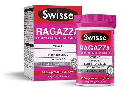 SWISSE MULTIVITAMINICO RAGAZZA 60 COMPRESSE - latuafarmaciaonline.it