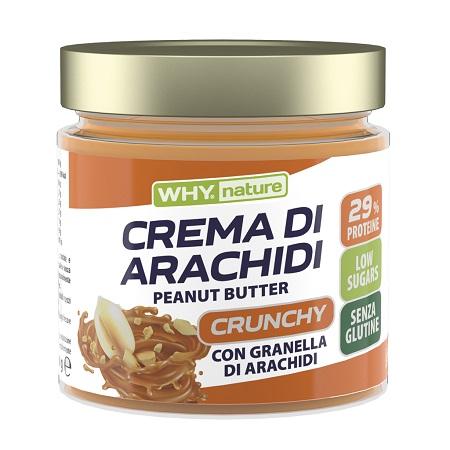 WHYNATURE BURRO ARACHIDI CRUNCHY 350 G - La farmacia digitale