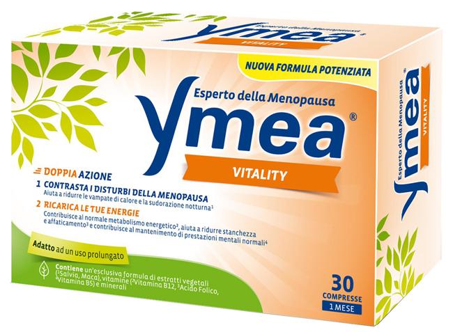 YMEA VITALITY 30 COMPRESSE NUOVA FORMULA - Zfarmacia
