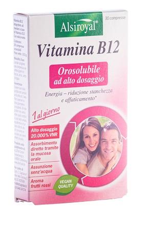 Vitamina B12 Orosulubile 30 Compresse - Arcafarma.it