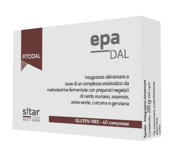 EPADAL 40 COMPRESSE FITODAL - Farmaciapacini.it