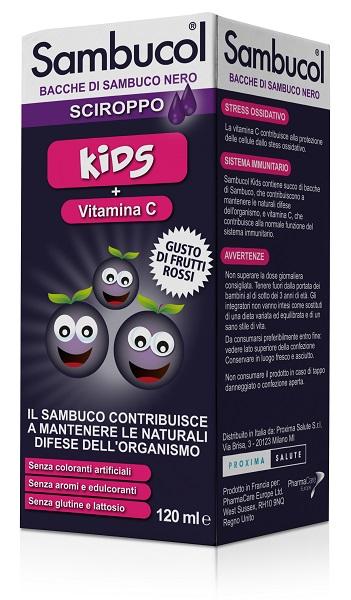SAMBUCOL KIDS SCIROPPO 120 ML scadenza settembre 2021 - Farmaciapacini.it