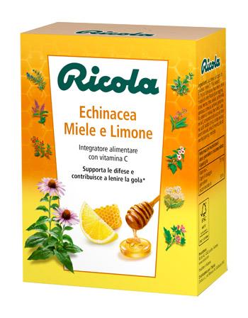 RICOLA ECHINACEA/MIELE/LIMONE 50 G - Farmastop