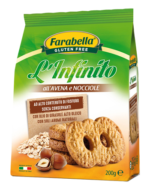 FARABELLA INFINITO AVENA/NOCCIOLE 200 G - Farmaseller