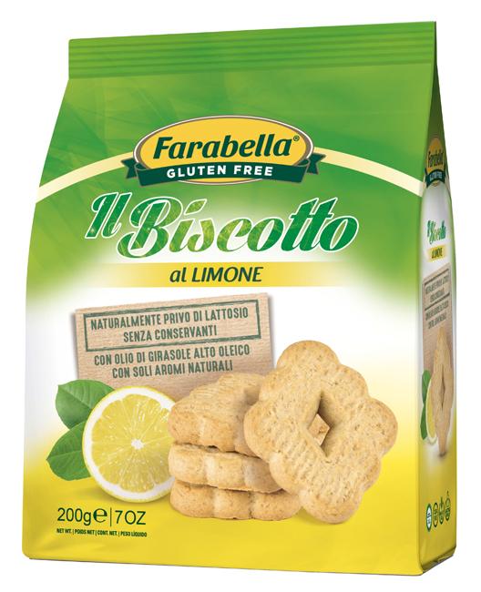 FARABELLA BISCOTTO LIMONE 200 G - Farmaseller