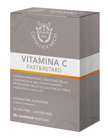 TISANO COMPLEX VITAMINA C & RETARD 20 COMPRESSE - latuafarmaciaonline.it