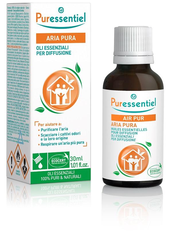PURESSENTIEL MISCELA PER DIFFUSIONE ARIA PURA CERTIFICATA ECOCERT 30 ML - Farmacia 33