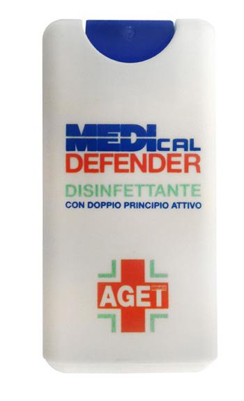 AGET MEDICAL DEFENDER SPRAY DISINFETTANTE CUTE 15 ML - Farmaseller