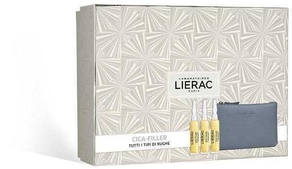 LIERAC CF CICA FILLER  3 FIALE  10 ML+ POCHETTE RDF - Farmastop