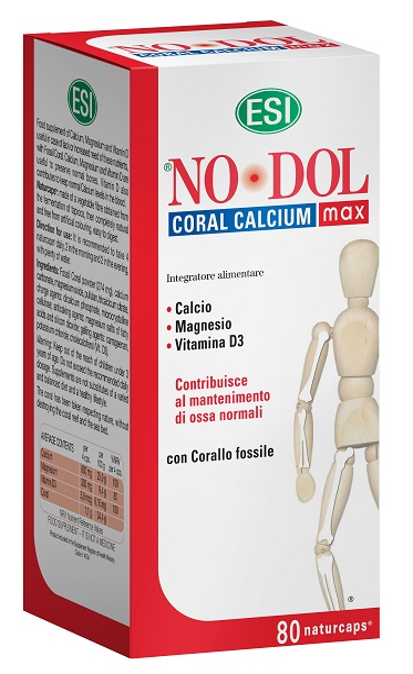 ESI NO DOL CORAL CALCIUM MAX 80 CAPSULE - Farmacia Castel del Monte