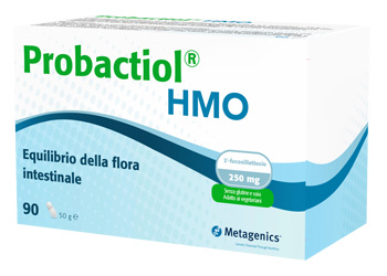 Probactiol HMO Integratore Alimentare per l'equilibrio della flora intestinale Metagenics 90 Capsule - Farmastar.it