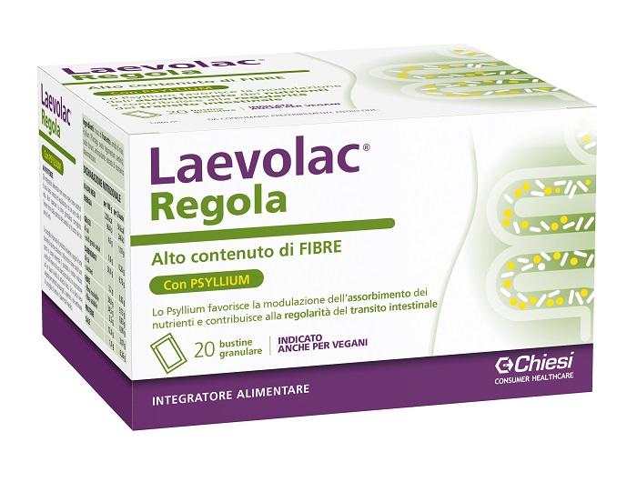 LAEVOLAC REGOLA 20 BUSTE - Farmacia Bisbano